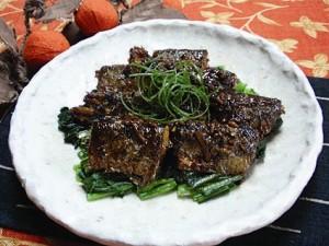 青魚の中華風みそ煮