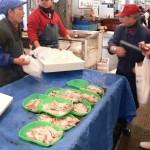 (有)西キ商店 当店ではサバ、あじ、イカ、活魚など激安でオススメです。